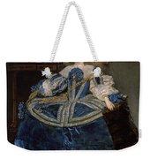 Infanta Margarita Teresa In A Blue Dress Weekender Tote Bag