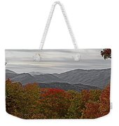 Infinite Smoky Mountains Weekender Tote Bag by DigiArt Diaries by Vicky B Fuller