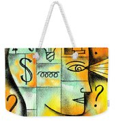 Knowledge And Idea Weekender Tote Bag