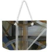 Intersection In Blue 4 Weekender Tote Bag