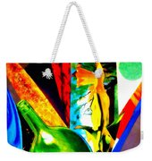 Intersections Abstract Collage Weekender Tote Bag