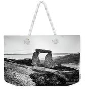 Inukshuk At Sunset, Terence Bay, Nova Scotia Weekender Tote Bag