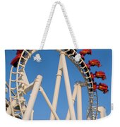 Inverted Roller Coaster Weekender Tote Bag