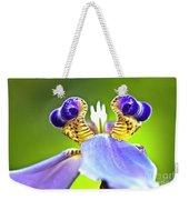 Iris Flower Weekender Tote Bag by Heiko Koehrer-Wagner