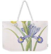 Iris Xiphium Weekender Tote Bag by Pierre Joseph Redoute