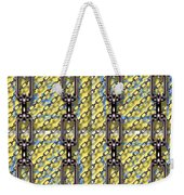 Iron Chains With Glazed Tiles Seamless Texture Weekender Tote Bag