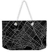 Irvine California Usa Dark Map Weekender Tote Bag