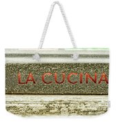 Italian Cooking Weekender Tote Bag