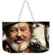 Jack Hendrickson With Pet Burro Helldorado Days Parade Tombstone Az 1980 Weekender Tote Bag