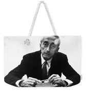 Jacques Cousteau (1910-1997) Weekender Tote Bag