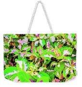 Jamaican Croton Weekender Tote Bag