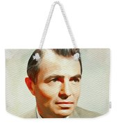 James Mason, Vintage Movie Star Weekender Tote Bag
