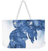 Jane And Tarzan-blue Weekender Tote Bag