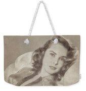 Janet Leigh, Vintage Actress Weekender Tote Bag