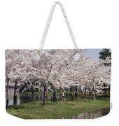Japanese Cherry Blossom Trees Weekender Tote Bag