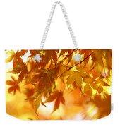 Japanese Maple In Fall Weekender Tote Bag
