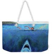 Jaws  Revisited Weekender Tote Bag