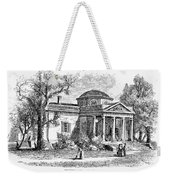 Jefferson: Monticello Weekender Tote Bag by Granger