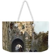 Jerusalem: Via Dolorosa Weekender Tote Bag