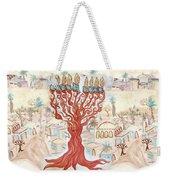 Jerusalem -watercolor On Parchment Weekender Tote Bag
