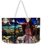 Jesus And Lambs Weekender Tote Bag