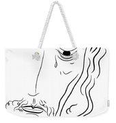 Jesus Christ Weekender Tote Bag by Michal Boubin