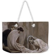 Jesus Washing The Feet Of His Disciples Weekender Tote Bag