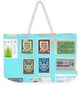 Jnf Stamps  Weekender Tote Bag
