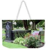 Joe Frazier Gravesite Weekender Tote Bag