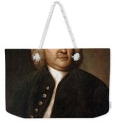 Johann Sebastian Bach, German Baroque Weekender Tote Bag