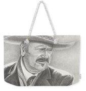 John Wayne As The Shootist Weekender Tote Bag
