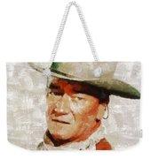 John Wayne By Mary Bassett Weekender Tote Bag