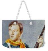 John Wayne, Vintage Hollywood Legend Weekender Tote Bag