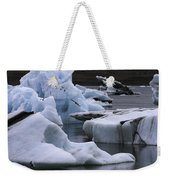 Jokulsarlon Glacier Lagoon Iceland 2431 Weekender Tote Bag