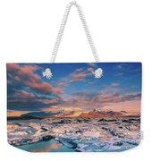 Jokulsarlon Glacier Lake - Iceland Weekender Tote Bag