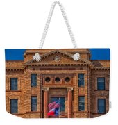 Jones County Courthouse Weekender Tote Bag