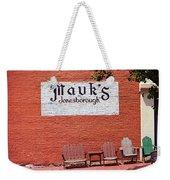 Jonesborough Tennessee Mauk's Store Weekender Tote Bag