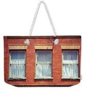 Jonesborough Tennessee Three Windows Weekender Tote Bag