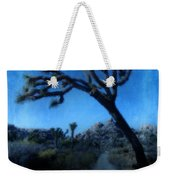 Joshua Trees At Night Weekender Tote Bag
