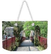 Jubilee Bridge - Matlock Bath Weekender Tote Bag