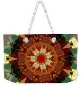 Kaleidoscope - Warm And Cool Colors Weekender Tote Bag by Deleas Kilgore
