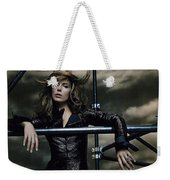 Kate Beckinsale Weekender Tote Bag