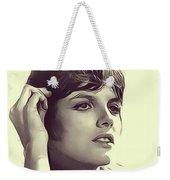 Katharine Ross, Vintage Actress Weekender Tote Bag