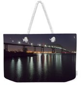 Key Bridge At Night Weekender Tote Bag