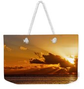 Key West Sunrise 21 Weekender Tote Bag