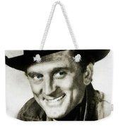 Kirk Douglas, Vintage Actor Weekender Tote Bag