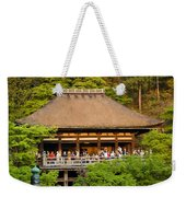 Kiyomizudera Temple Weekender Tote Bag