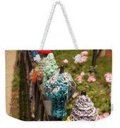 Knit Fence Protectors Weekender Tote Bag