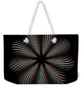 Knotplot 9 - Use Red-cyan 3d Glasses Weekender Tote Bag