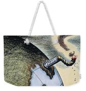 Korean War: Cartoon, 1950 Weekender Tote Bag